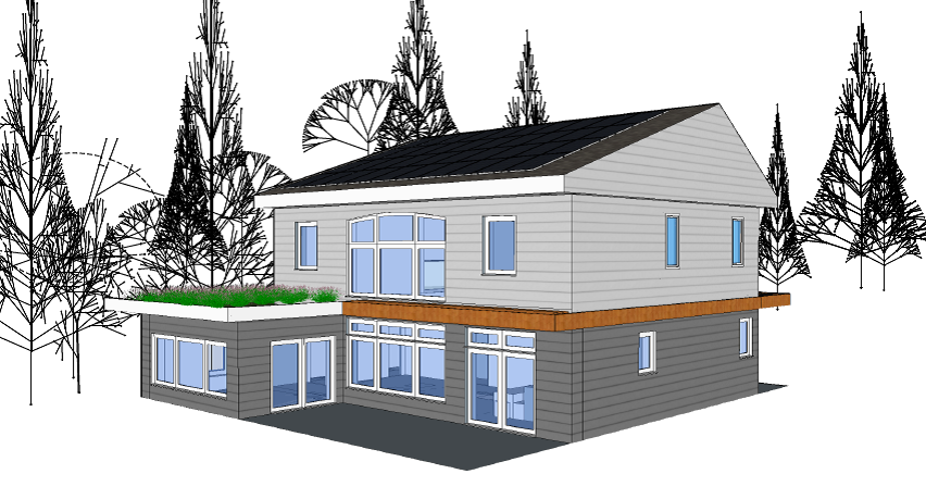 Local impact design engineering and design of passive for Local builders house plans